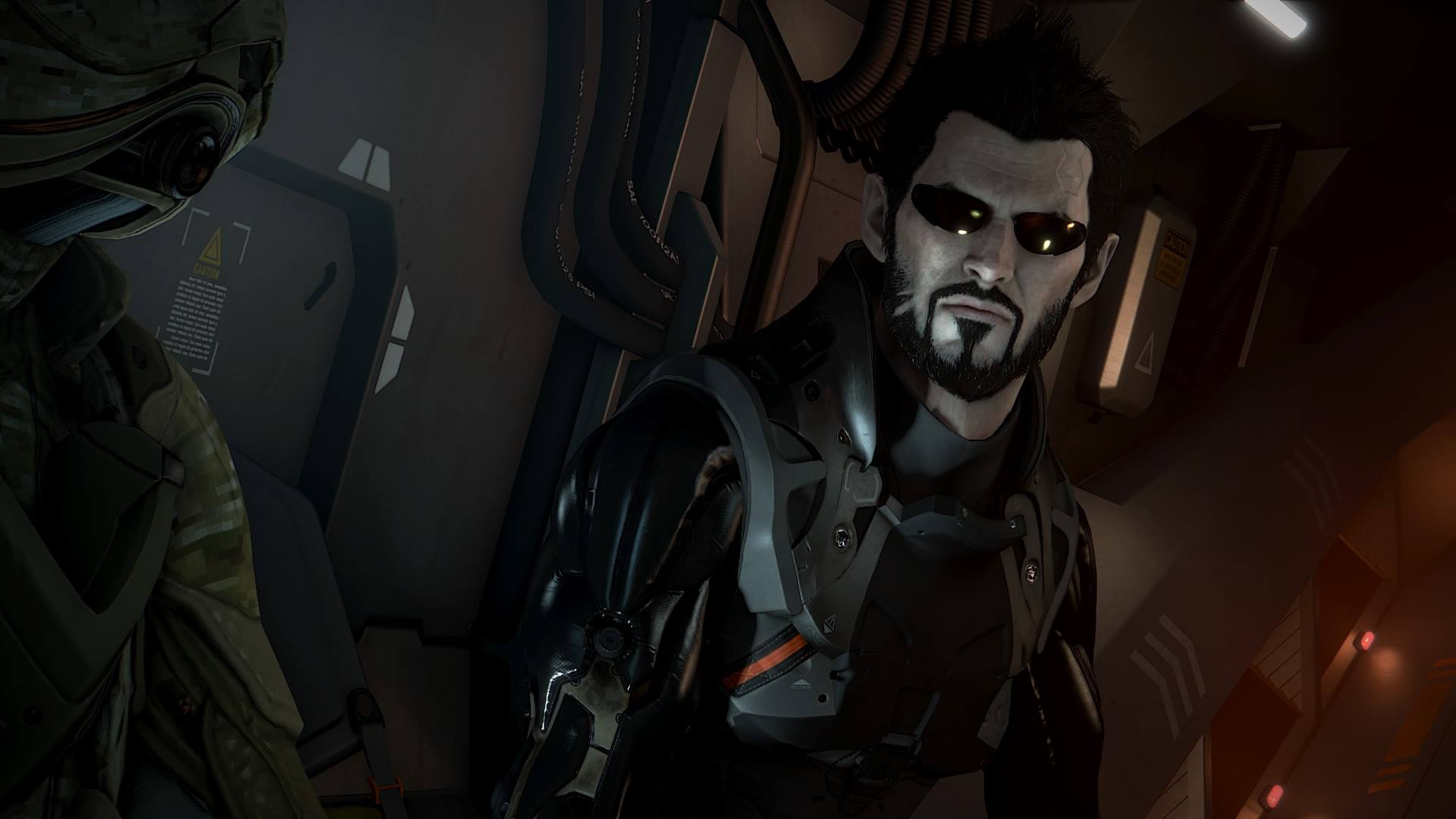 Screenshot from the Playstation 4 version of Deus Ex: Mankind Divided.