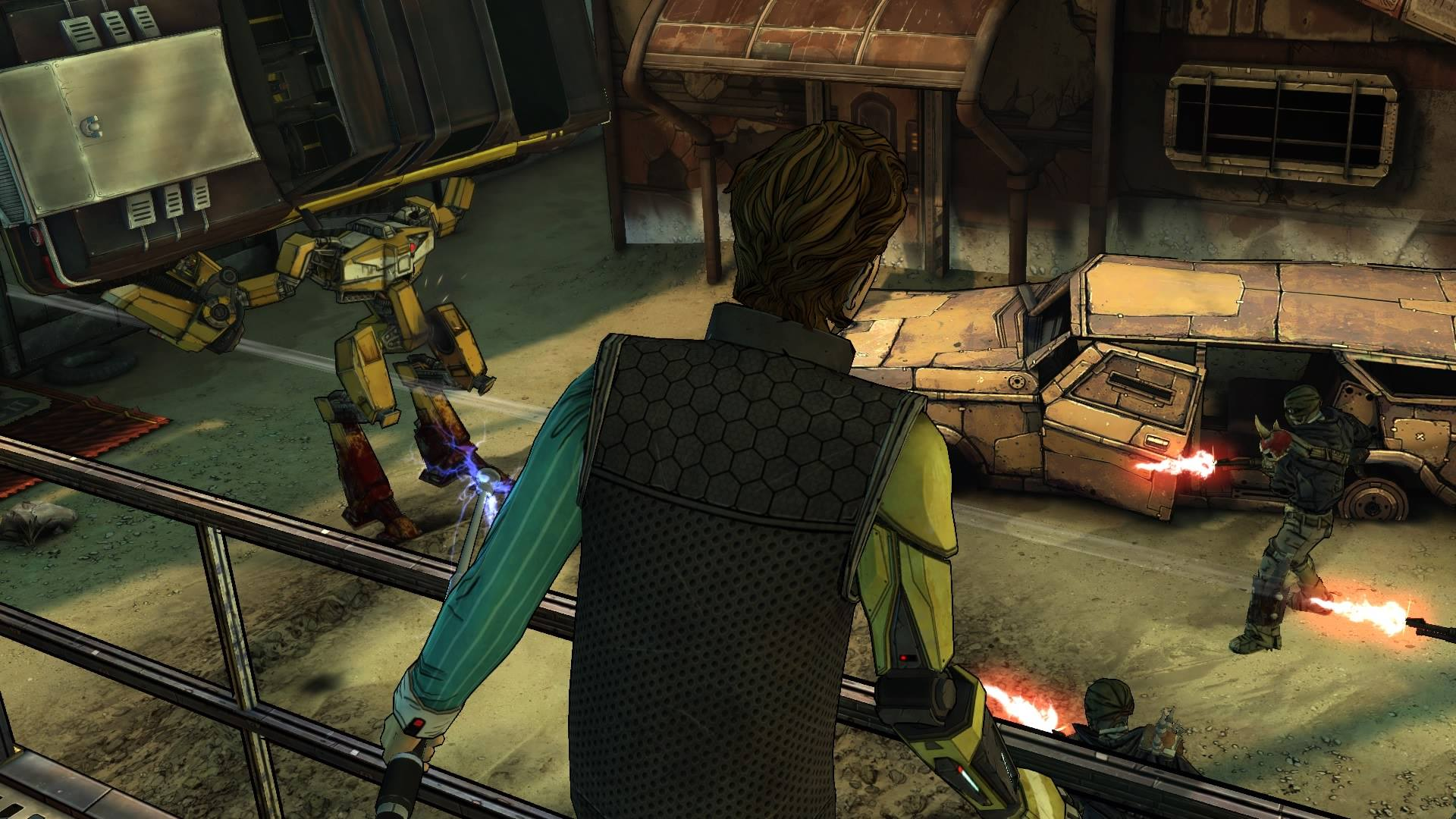 Screenshot from Tales From The Borderlands on PlayStation 4.