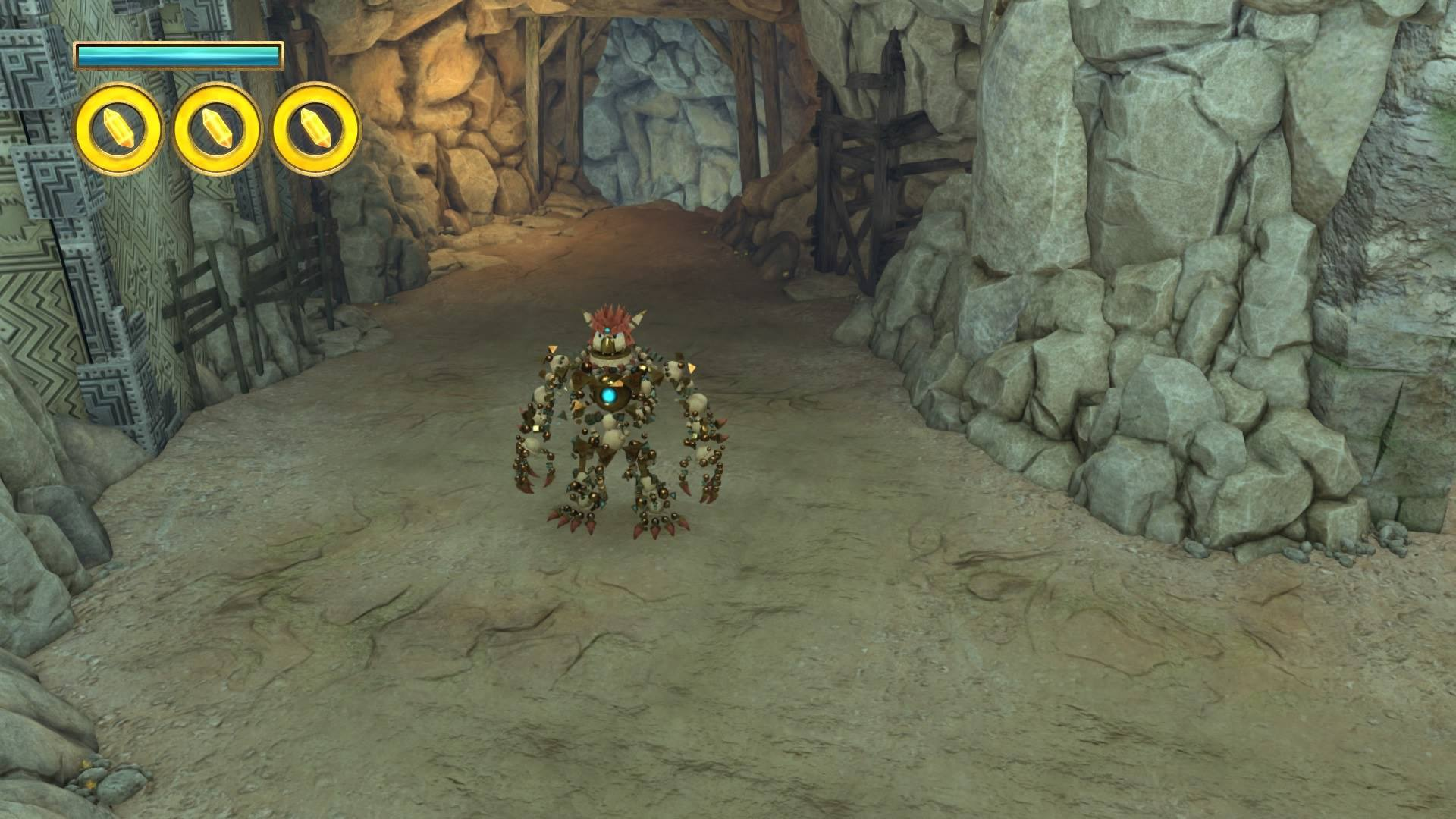 Screenshot of Knack for the PlayStation 4.