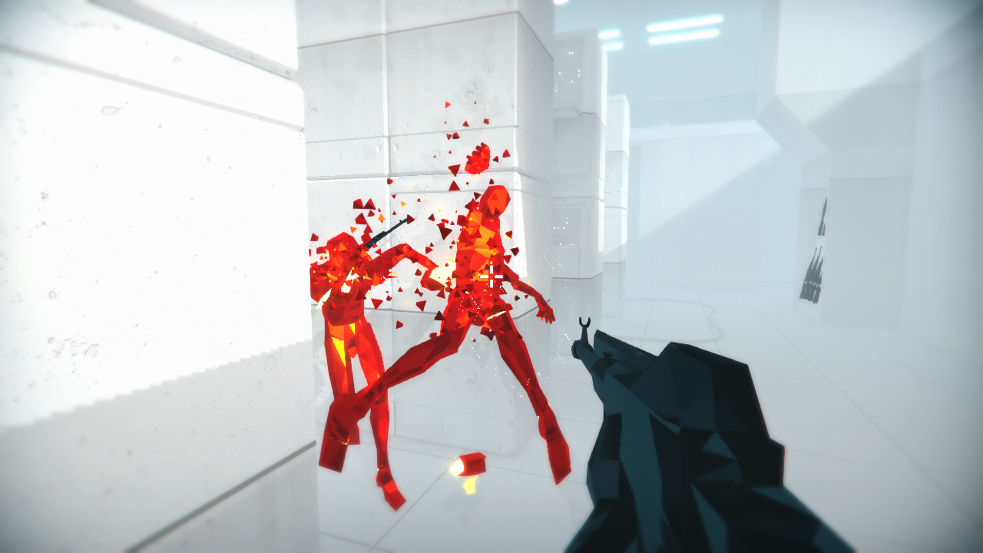 Screenshot from Superhot for the Xbox One.