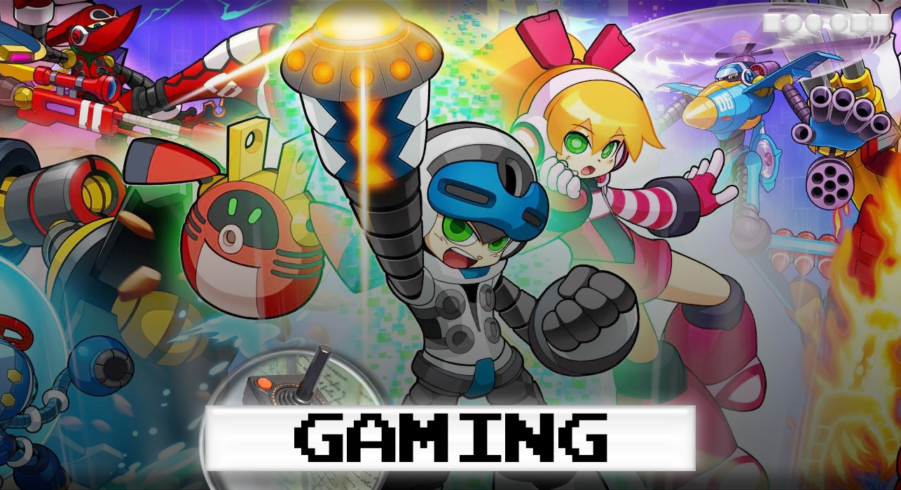 Loading screen for Mighty No. 9 on the PlayStation 4.
