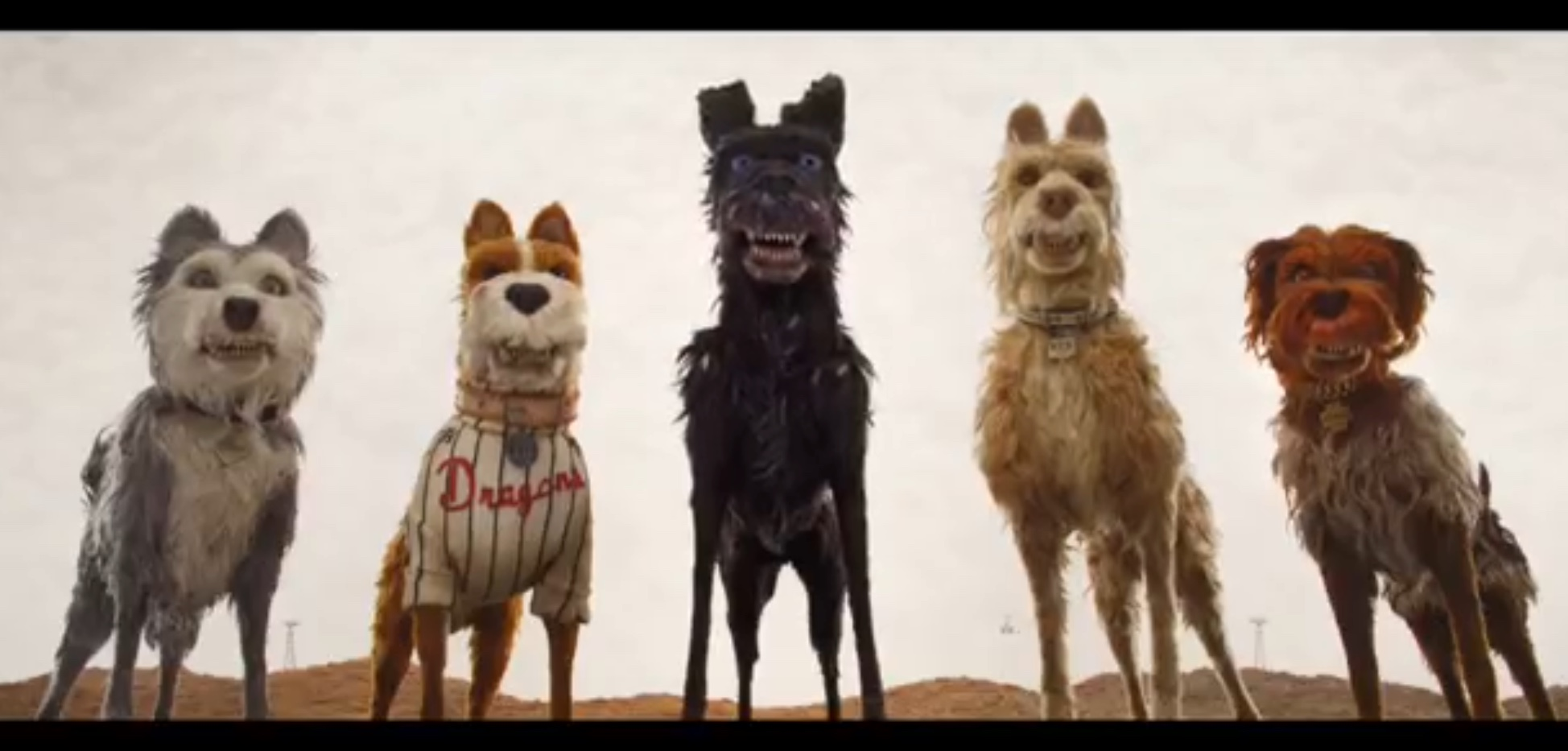 A still from the trailer for Isle of Dogs. (Fox Searchlight Pictures)